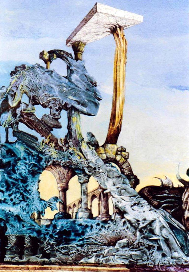 Otto Scanned Paintings, Surrealism 023ps2nobrdrWEB.jpg