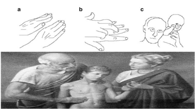 Biosignals perceived through touching