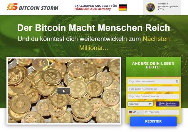 Bitcoin Storm Erfahrungen