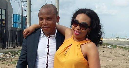 is nnamdi kanu's wife a nigerian