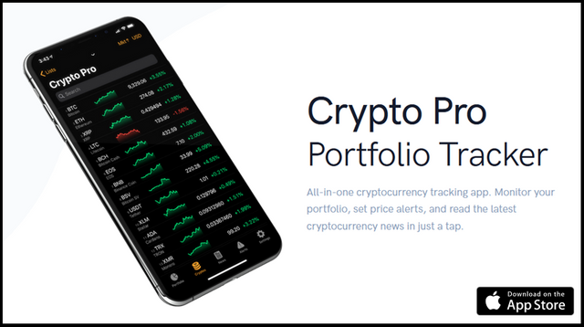 Crypto pro tracker ios apple watch