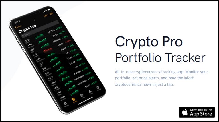 Crypto pro tracker ios apple watch