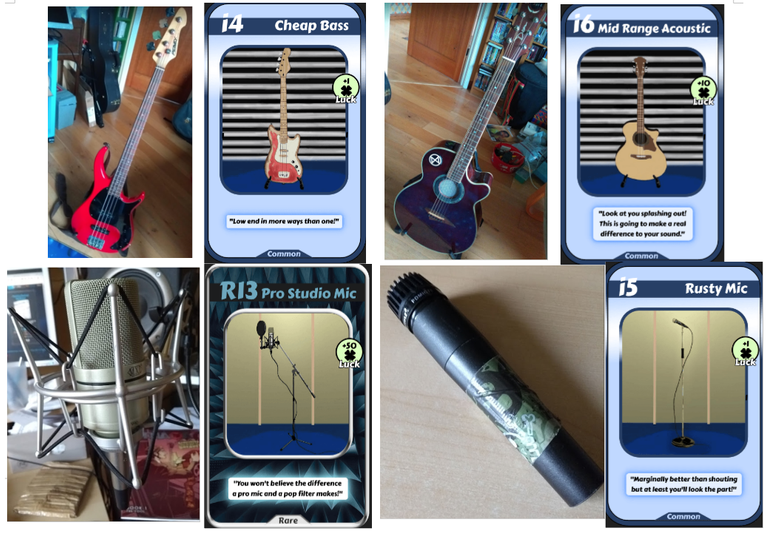 More instruments