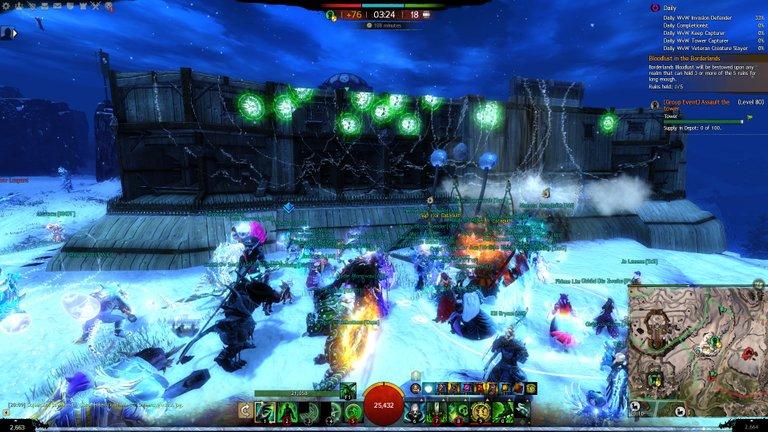Guild Wars 2 WvW Playfulfoodie gaming