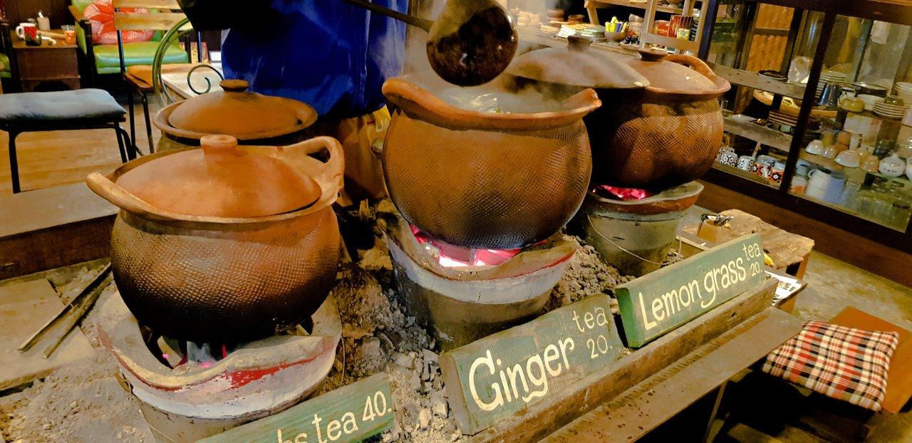 Herbal, Giner or Lemongrass