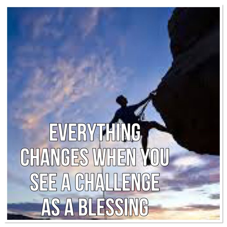 Challenges become blessings in disguise - Jumaipetiteheavenly
