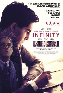 Poster of The Man who knew Infinity (film)