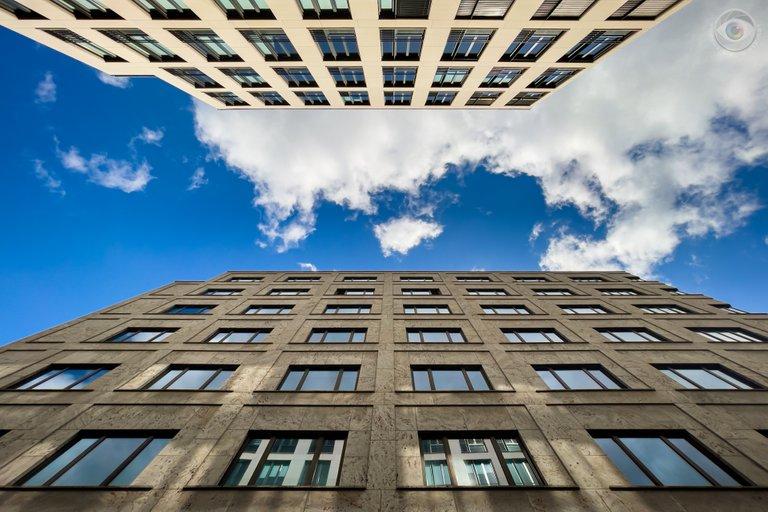 Sunny Architecture Berlin