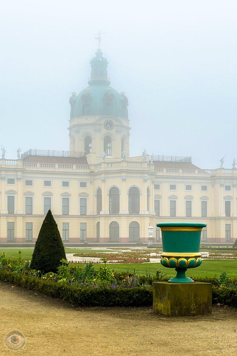 Foggy Palace Charlottenburg