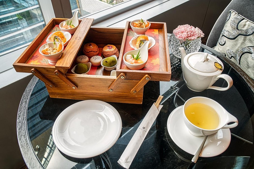 Okura afternoon tea