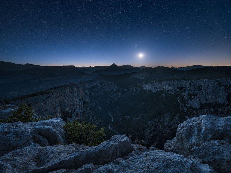 Verdon Moonrise