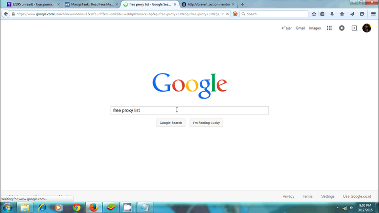 Figure 5. Open your browser and search for proxy list in search engine.png