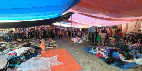 Ukay-ukay at Banaue Saturday Market