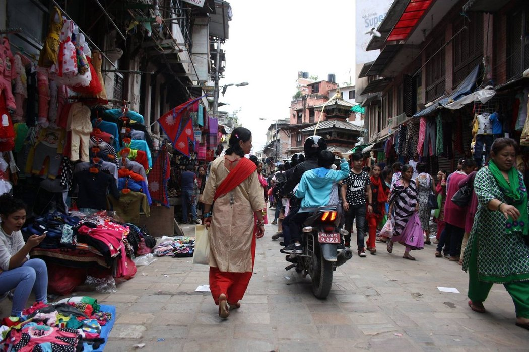 Thamel District is the most touristic place in Kathmandu. If you like crowds and shopping, this is for you. Great place to pick up all your souvenirs.