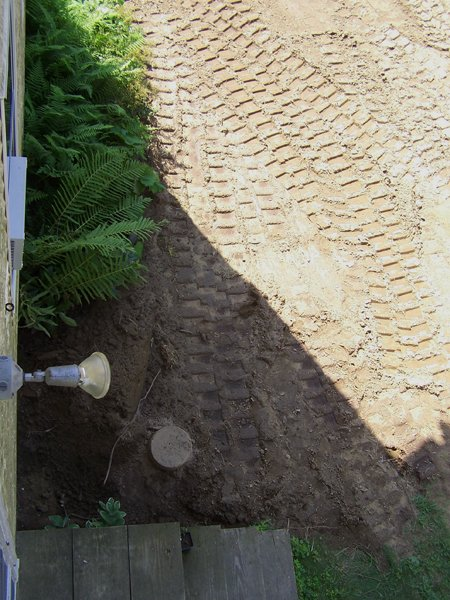 Construction  north side graded to garden crop August 2019.jpg