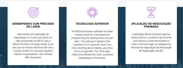 Bitcoin Evolution sucesso