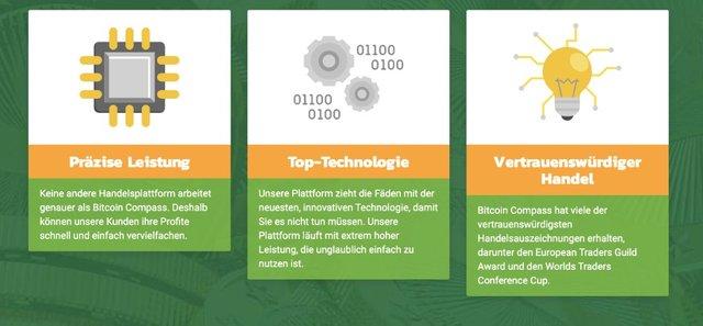 Bitcoin Compass Vorteile