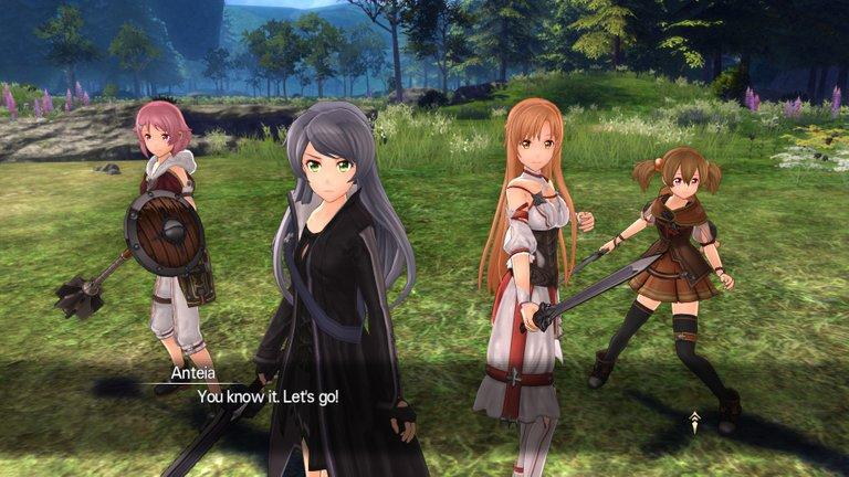 Sword Art Online Hollow Realization Playfulfoodie gaming