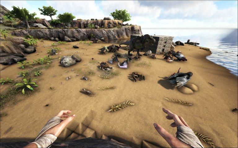 Playfulfoodie gaming building Ark