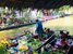 The Tha Kha floating market in Bangkok