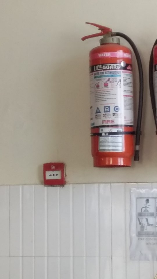 PHOTO COLLECTION IN HOSPITAL FIRE ALARM