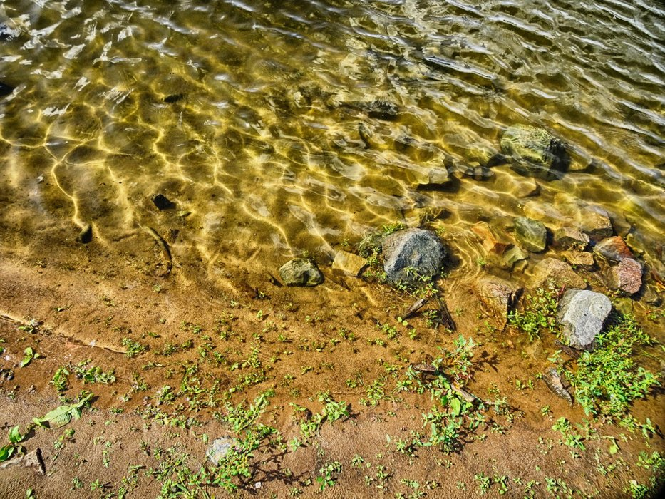 This is the clear water of a river that was fatally poisoned 30 years ago