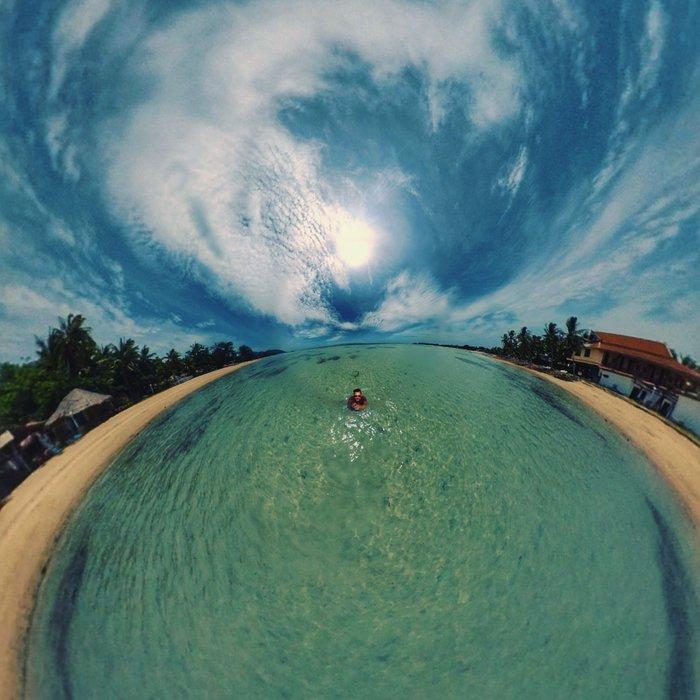 Beach Llife in Koh Phangan, Thailand
