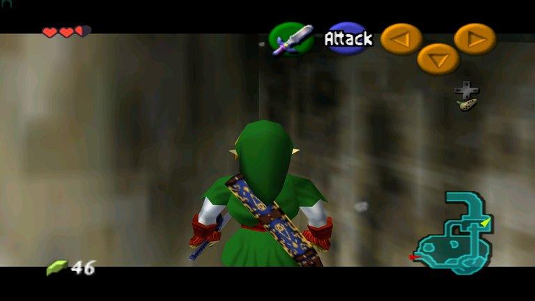 screenshot taken by me while playing via emulator