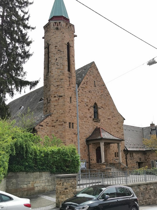 A nice old church near the main station...