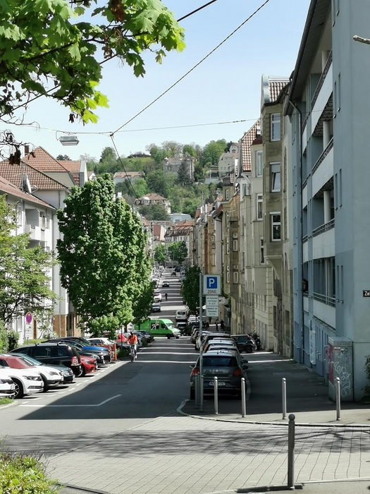 Stuttgart is already a green city with many trees and parcs....