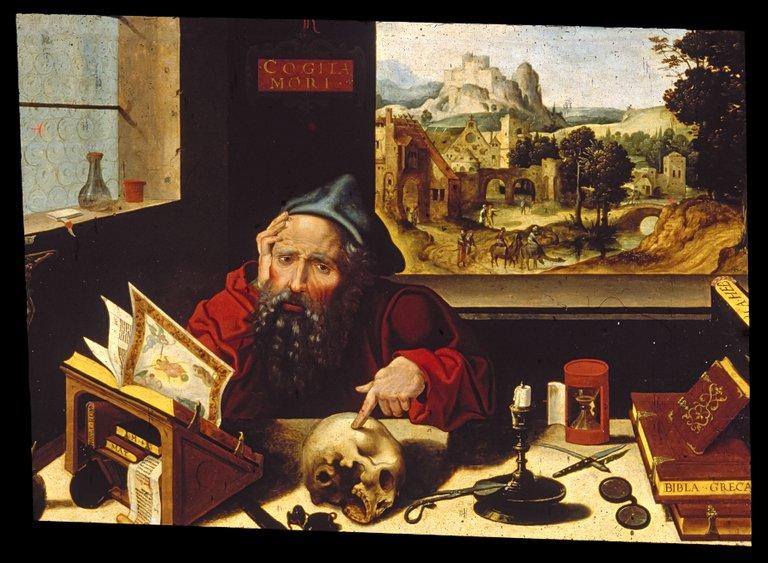 Workshop_of_Pieter_Coecke_van_Aelst,_the_elder__Saint_Jerome_in_His_Study__Walters_37256.jpg