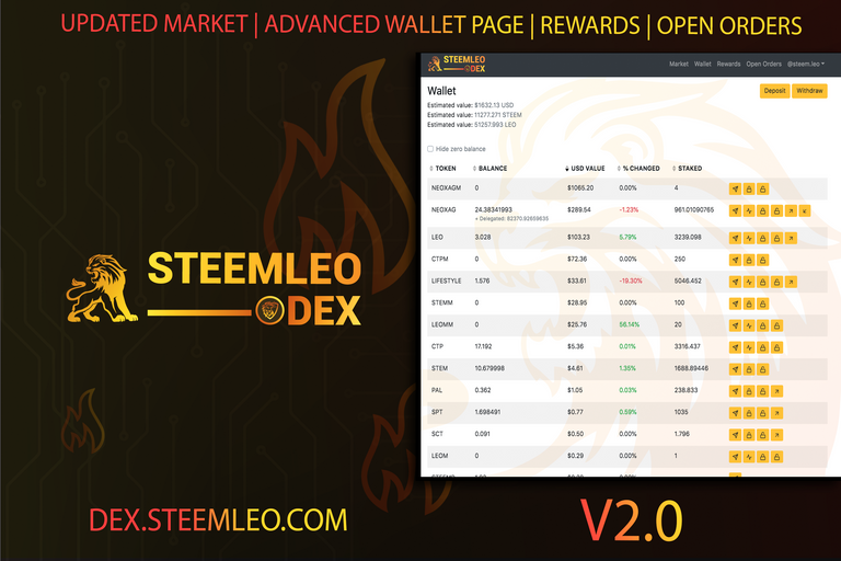 steemleo dex v2 announcement.png