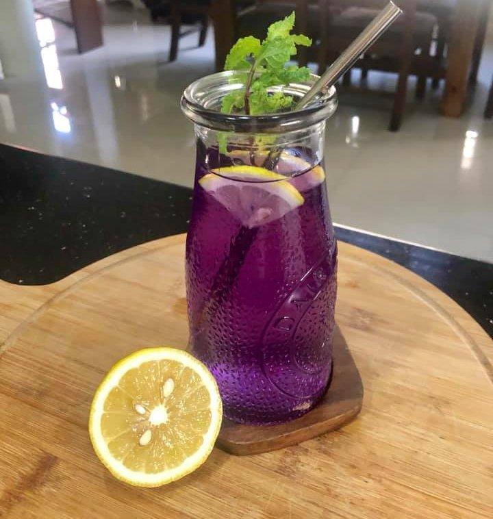 drinks blue ternate tea  juice with Ana P 1.jpg