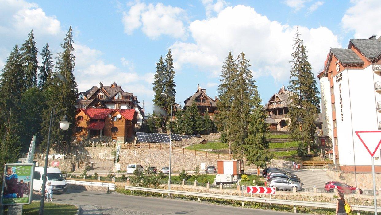 The territory of Bukovel