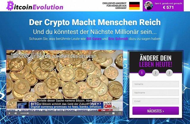 Bitcoin-Evolution erfahrungen
