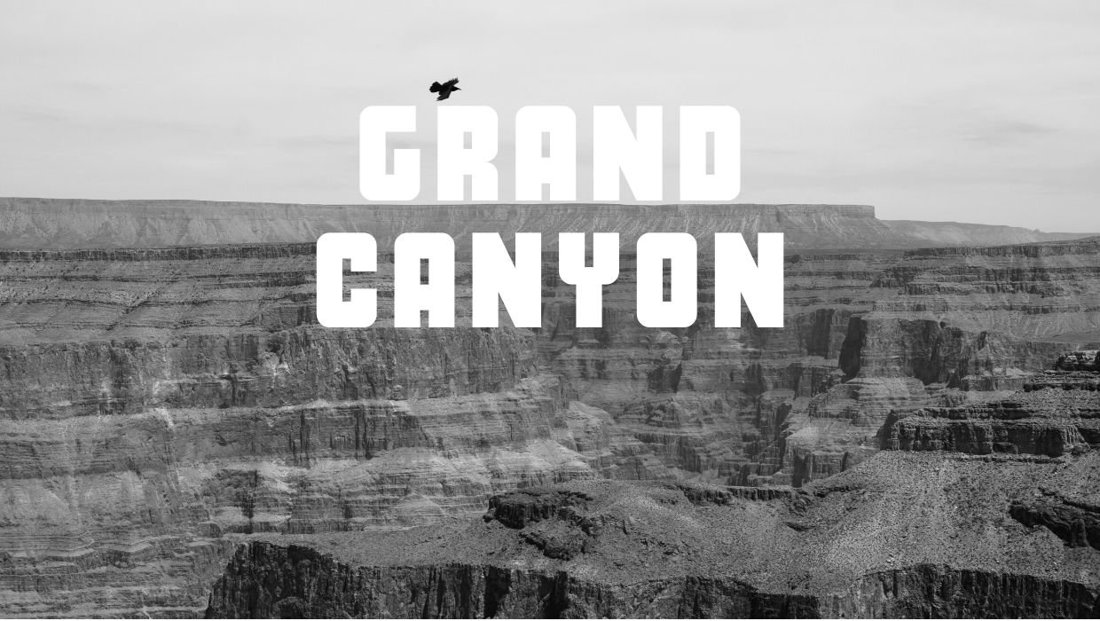 A journey to and from the Grand Canyon's Western Rim