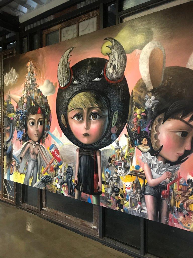 Chang Chui has amazing art hiding in every corner