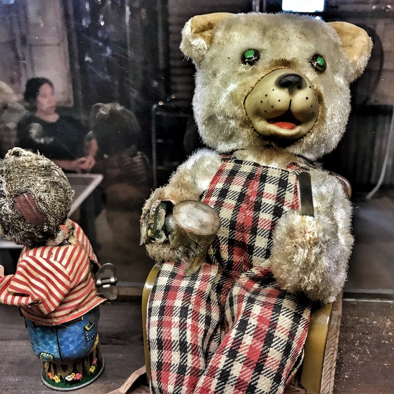 Does anyone want a new creepy teddy for their kids?