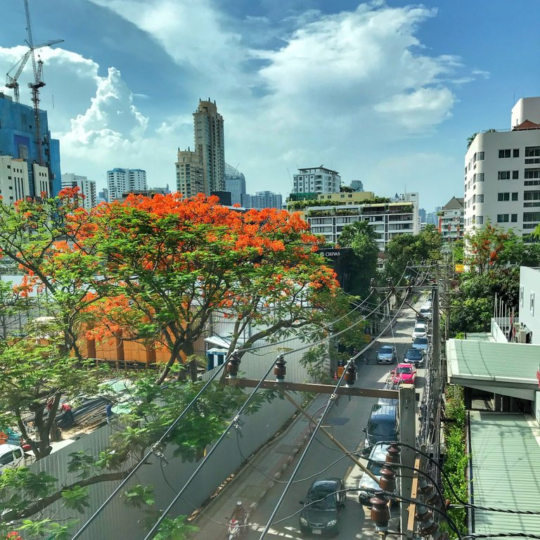 The Skylines are always interesting in Bangkok