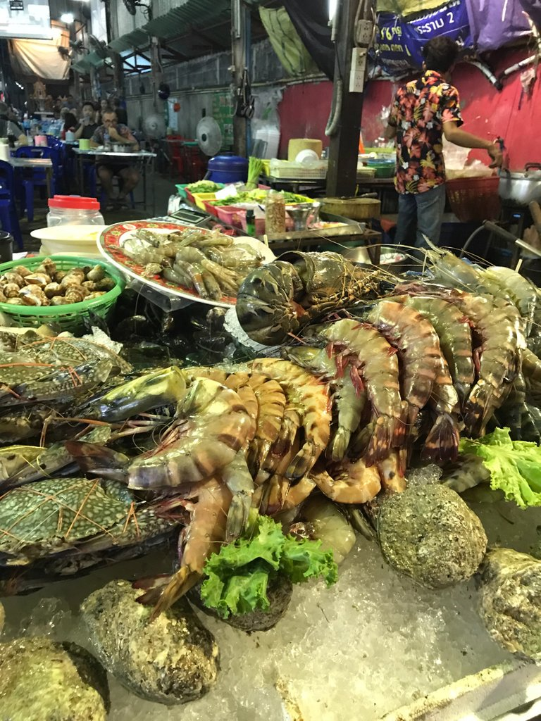 Of course, the seafood is out of this world and cheap!