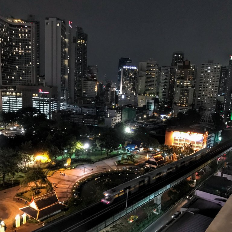 Goodnight Bangkok!