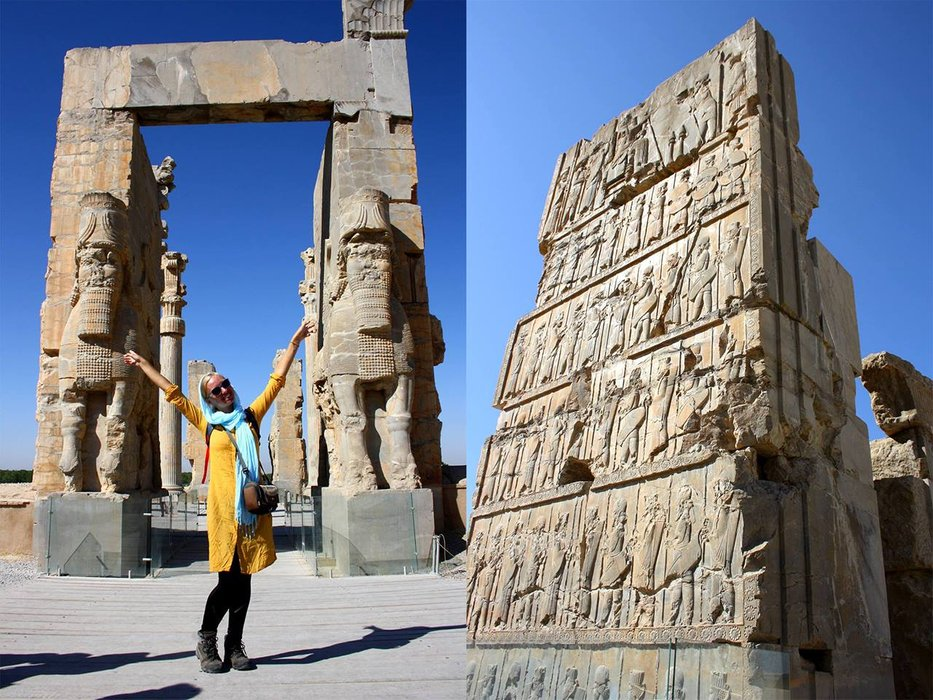 Persepolis - capital of Persian empire. The Gates of All Lands.