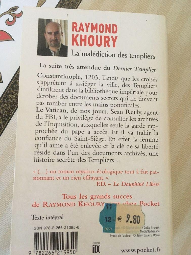 livre R Khoury Malédiction Templiers dos.JPG