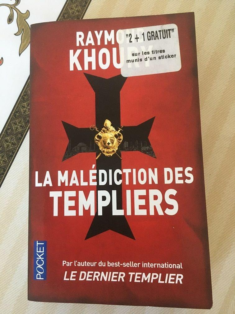 livre R Khoury Malédiction Templiers.JPG