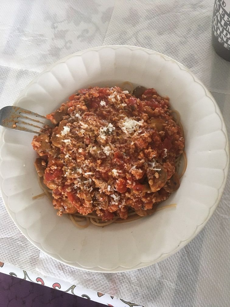 spaghetti bolo maison.JPG