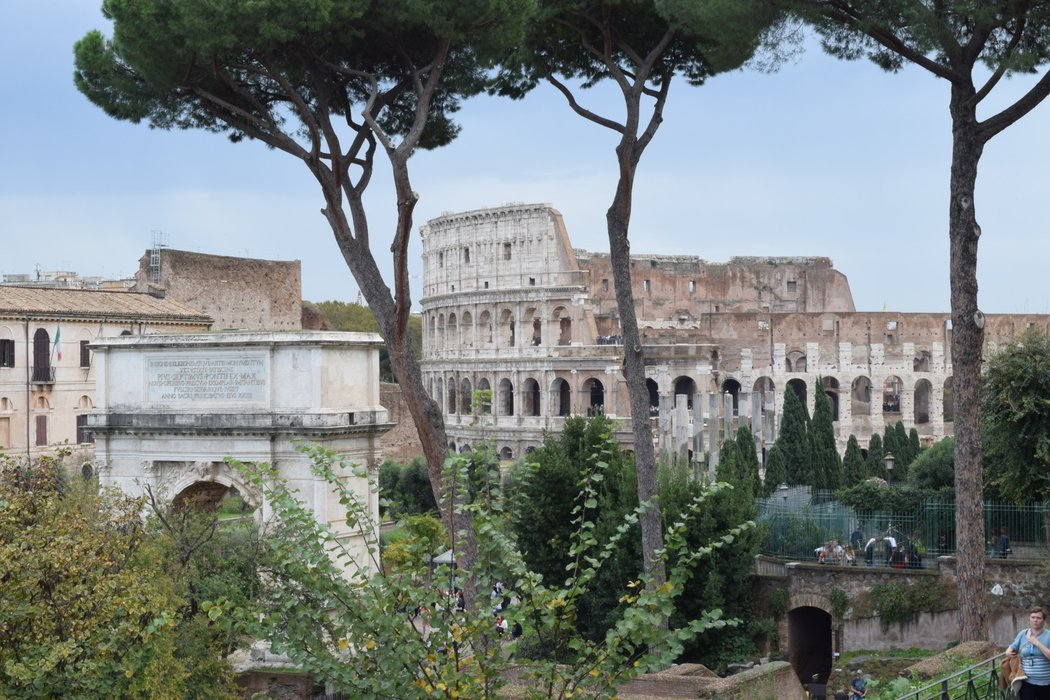 The Colosseum from a distance!