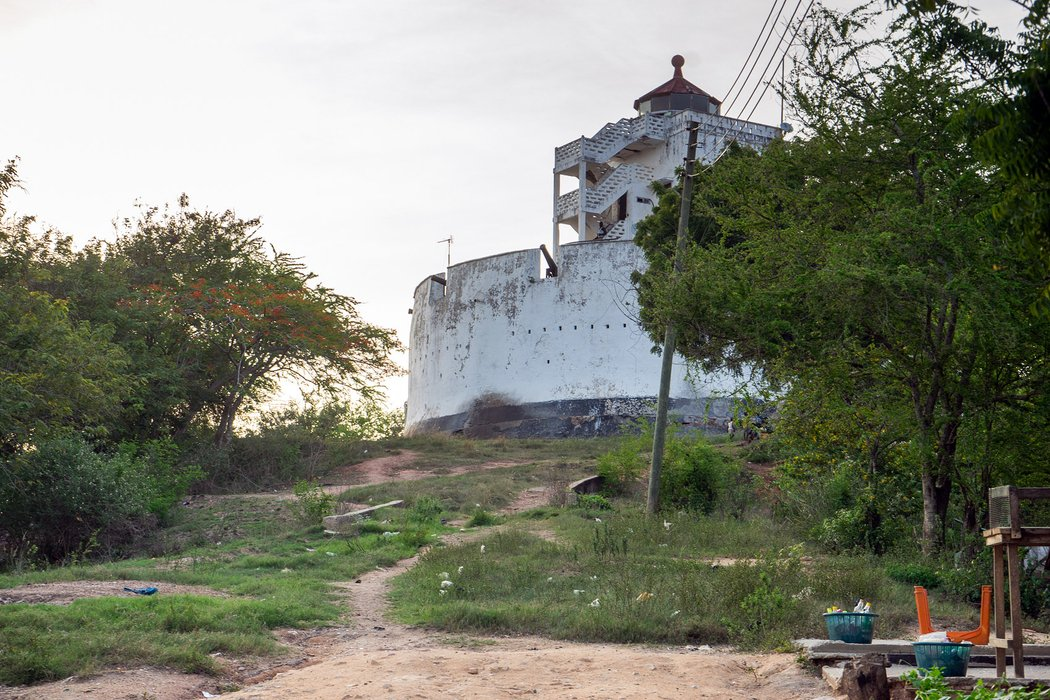 The Fort And Lighthouse of Cape Coast