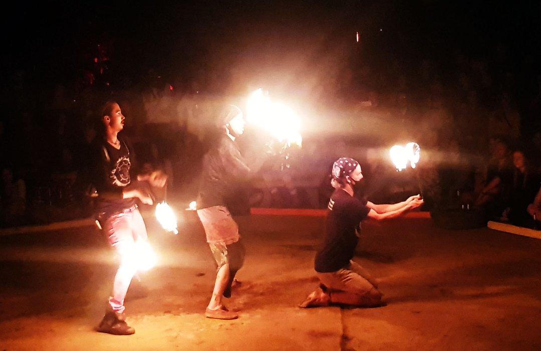 A High Energy Trio Performance