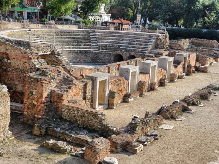 An ancient theatre