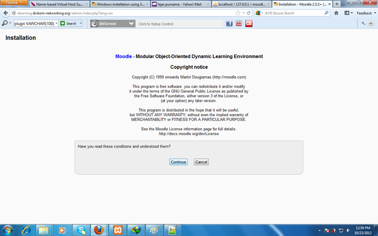 Figure 9. moodle installation copyright notice.png